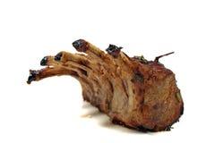 зажаренный в духовке шкаф овечки Стоковое Фото