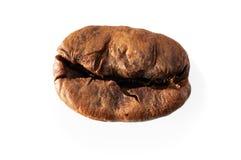 Зажаренный в духовке кофе, макрос стоковая фотография