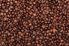 зажаренный в духовке кофе фасолей Взгляд сверху Стоковое Изображение