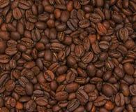 зажаренный в духовке кофе фасолей предпосылки Стоковое Изображение RF