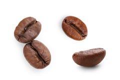 зажаренный в духовке кофе фасоли Стоковое Изображение