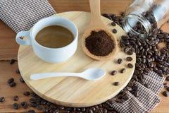 зажаренный в духовке кофе Стоковые Изображения