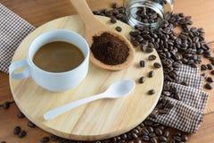 зажаренный в духовке кофе Стоковые Фотографии RF