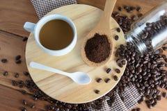 зажаренный в духовке кофе Стоковое Изображение RF
