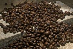 Зажаренный в духовке натюрморт кофе Стоковые Фото
