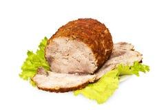Зажаренный в духовке свинина, Tenderloin свинины Стоковые Изображения