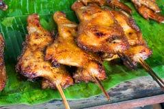 Зажаренный в духовке цыпленк цыпленок Стоковое фото RF