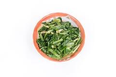 Зажаренный индийский салат (Lactuca sativa Linn) Стоковое Изображение RF