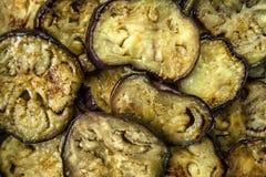 Зажаренный и сваренный aubergine Стоковое фото RF