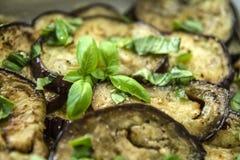 Зажаренный и сваренный aubergine Стоковые Фотографии RF