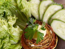 зажаренный овощ сердцевины Стоковая Фотография