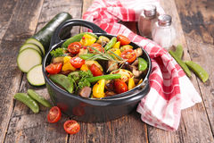 зажаренный овощ Стоковая Фотография RF