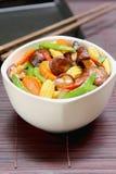 зажаренный овощ stir гриба стоковая фотография rf