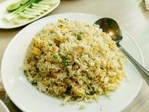 зажаренный раком рис мяса Стоковое Фото