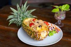 зажаренный рис ананаса Стоковые Изображения RF