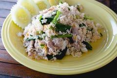 зажаренный рис свинины Стоковые Фотографии RF