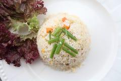 зажаренный рис свинины Стоковое Изображение