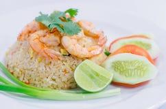 зажаренный рис тайский Стоковое Фото