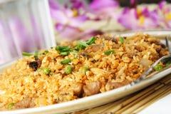 зажаренный рис Стоковая Фотография