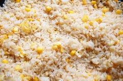 зажаренный рис Стоковые Изображения