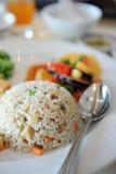 зажаренный рис Стоковое фото RF
