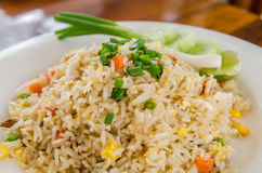 зажаренный рис Стоковое Фото