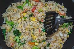 зажаренный рис Стоковое Изображение RF