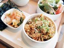 зажаренный рис kimchi Стоковое Изображение RF