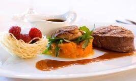 зажаренный салат еды Стоковое Изображение