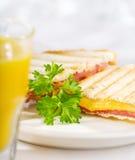 Зажаренный сандвич сыра Стоковая Фотография RF