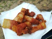 Зажаренный свинина Стоковая Фотография