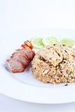 зажаренный свинина rice1 Стоковое фото RF