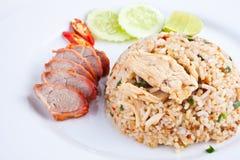зажаренный свинина rice2 стоковые изображения