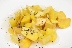 Зажаренный сладкий картофель Стоковые Фотографии RF