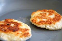 Зажаренный хлеб с сыром фета Стоковая Фотография