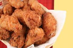 зажаренный цыпленок 4 Стоковые Изображения