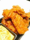 Зажаренный цыпленок Кореи Стоковые Фотографии RF