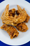 Быстро-приготовленное питание зажаренного цыпленка Стоковые Фото