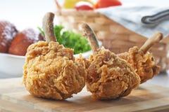 зажаренный цыпленок стоковая фотография
