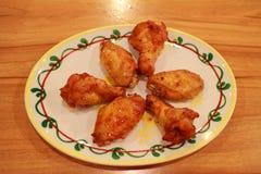 зажаренный цыпленок Стоковые Фотографии RF