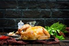 зажаренный цыпленок Стоковое Фото