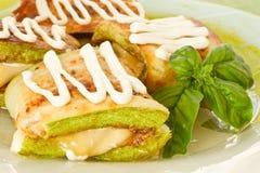 зажаренный zucchini Стоковое Фото