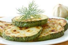 зажаренный zucchini Стоковые Фото