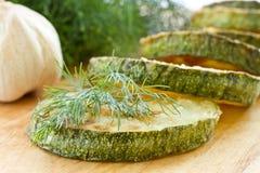 зажаренный zucchini Стоковое Изображение RF