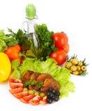 Жаркое с картошками и овощами Стоковые Фотографии RF