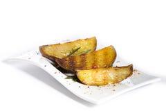 зажженная картошка Стоковое Изображение