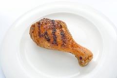 Зажженный цыпленок Стоковые Изображения