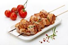Зажженное мясо свинины Стоковая Фотография