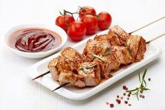 Зажженное мясо свинины Стоковое Изображение RF