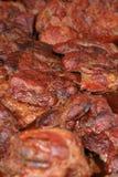 зажженное мясо Стоковое Изображение RF